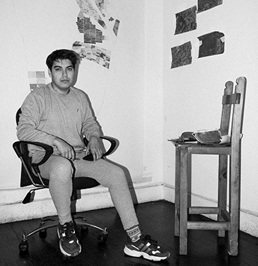 Porträt Rafael Mayu Nolte, Foto: Juan Carlos Luna