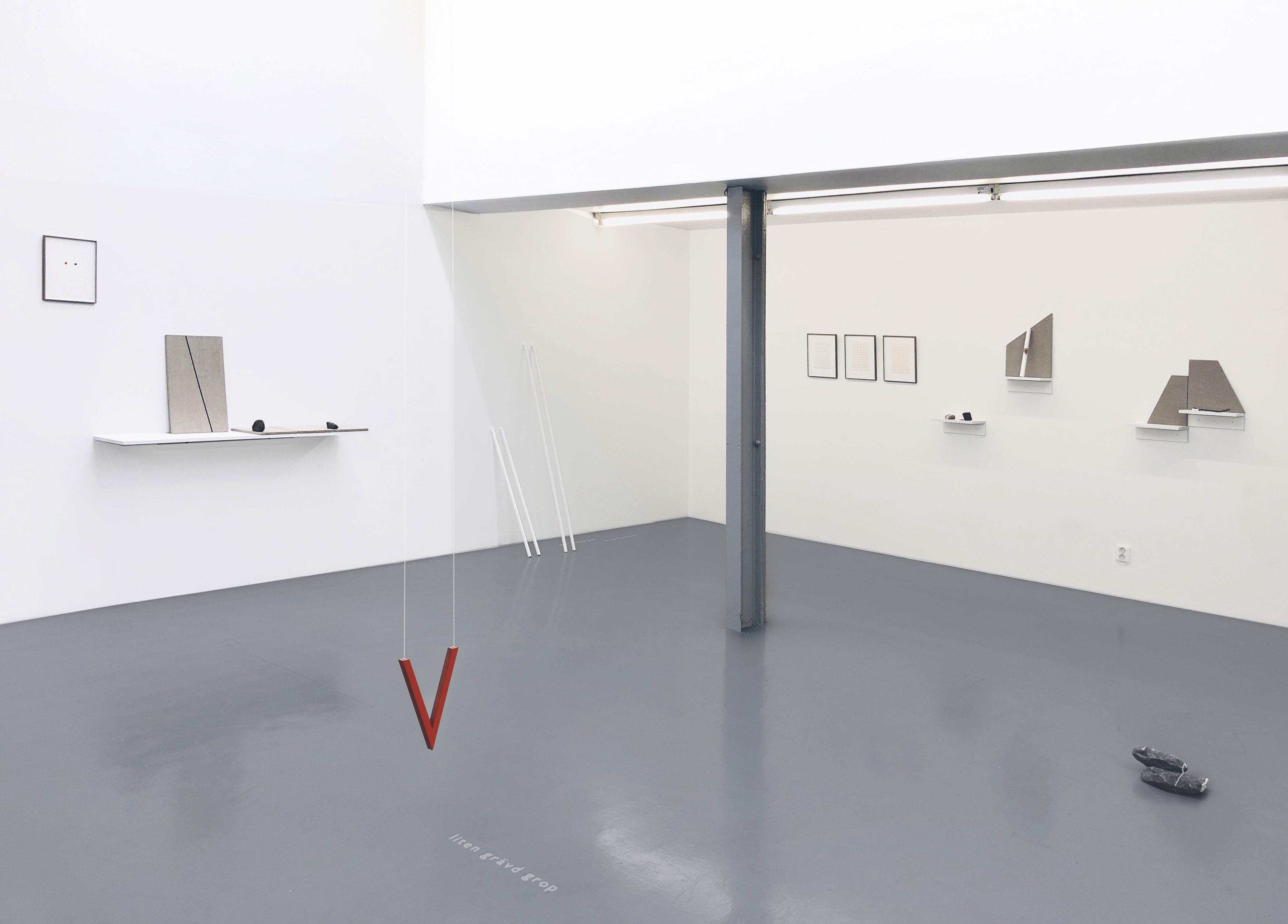 Installation view, Cecilia Hultman
